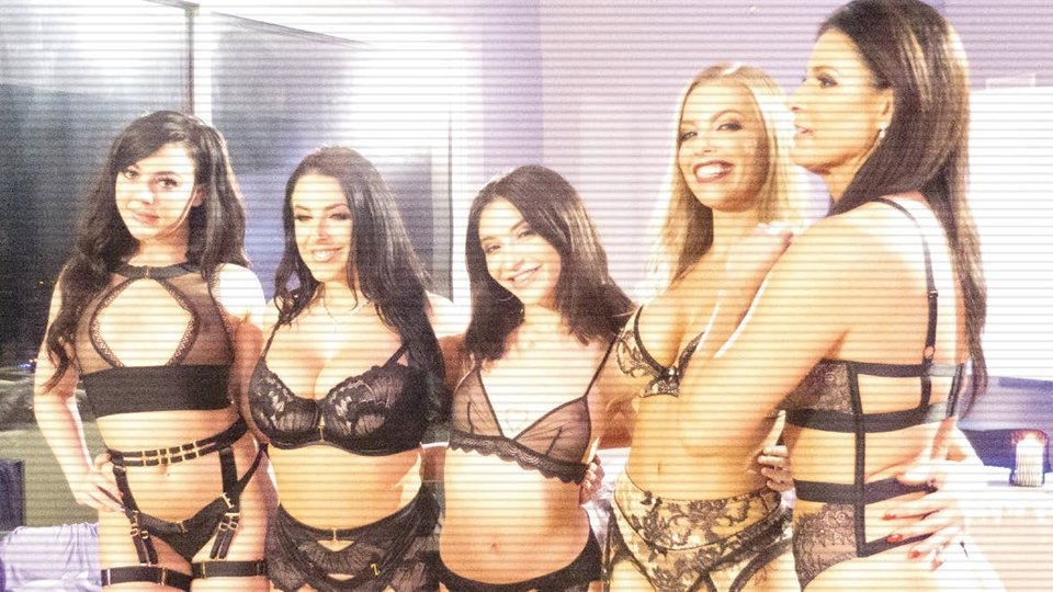 On the Set: Kay Brandt Directs Epic Glamcore Orgy for Marc Dorcel