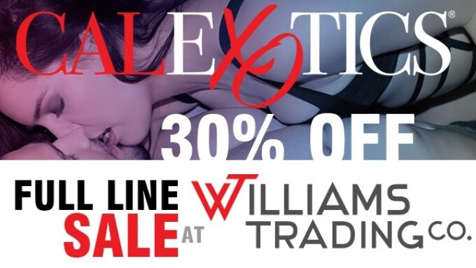 Williams Trading Offering CalExotics 30% Off Sale