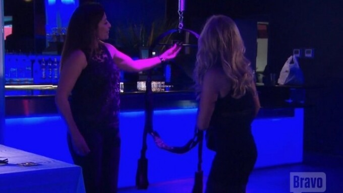 Pipedream Appears on 'Real Housewives of OC'