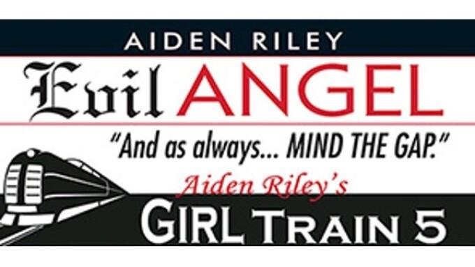Evil Angel Announces Aiden Riley's 'Girl Train 5'