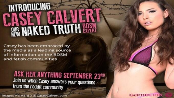 GameLink's BDSM Expert Casey Calvert Set for Reddit Q&A