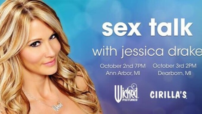 Jessica Drake Takes Sex Ed to Detroit