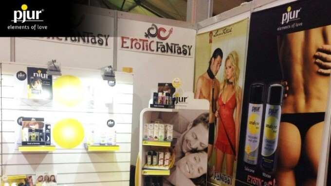 pjur Group Products Debut at EroExpo in Moscow