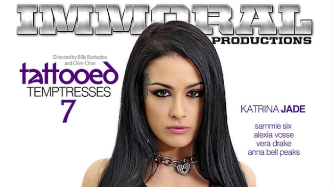 Pure Play Media Releases 'Tattooed Temptresses 7'