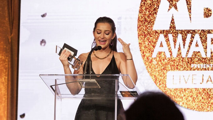 Q&A: XBIZ Female Performer of the Year Dani Daniels Dominates Adult