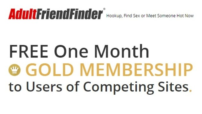 Adult FriendFinder Offers Free Gold Membership Competitive Upgrade