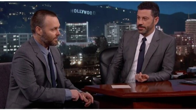 Will Forte Mentions Pipedream on 'Jimmy Kimmel Live'