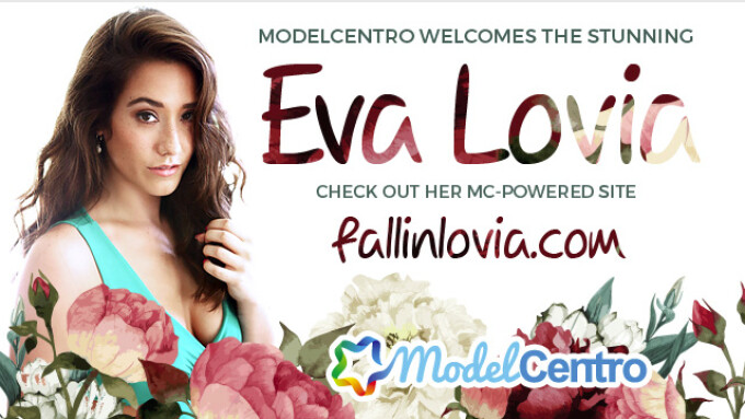 ModelCentro Launches Eva Lovia's Site