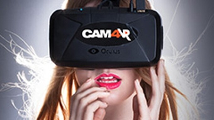 CAM4 and VRTube Partner for Live Virtual Reality Cams