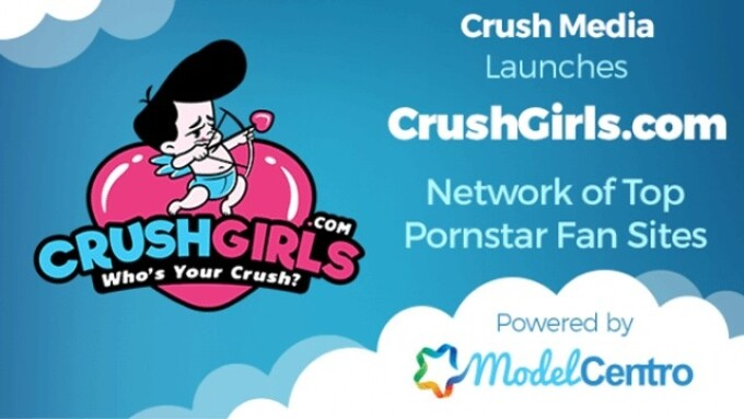 CrushGirls Network, Powered by ModelCentro, Launches
