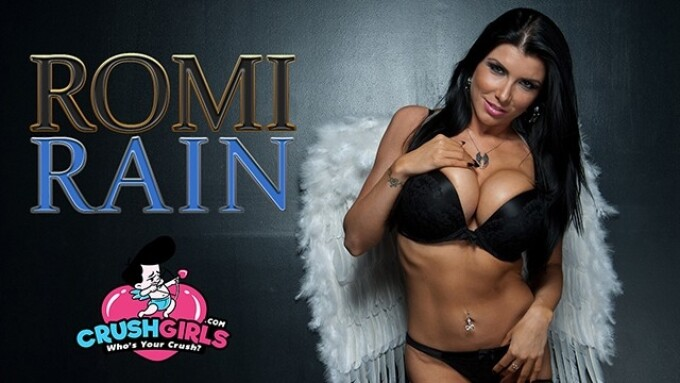 CrushGirls Rolls Out Romi Rain's Official Site