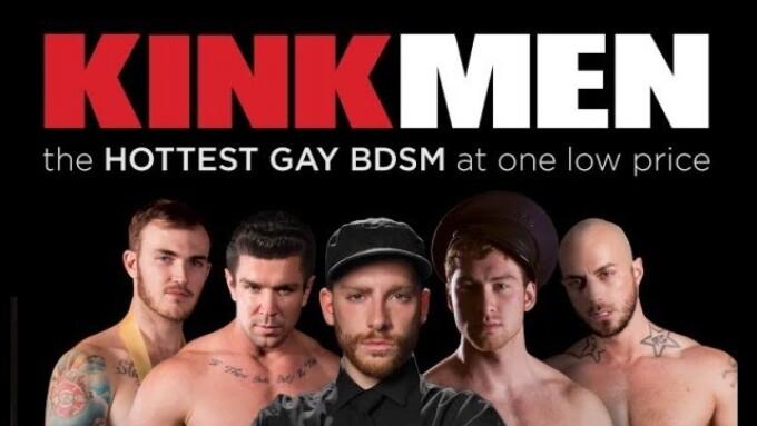 Gay BDSM Megasite KinkMen.com Launches