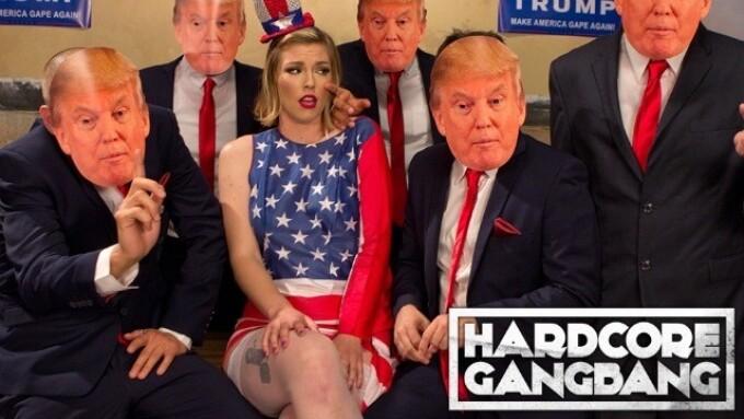 Kink Releases Trump Gangbang Film 'Make America Gape Again'