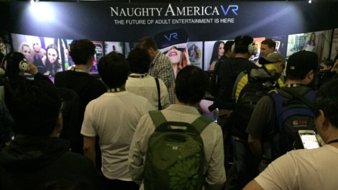 Naughty America VR Draws Big Crowds at E3