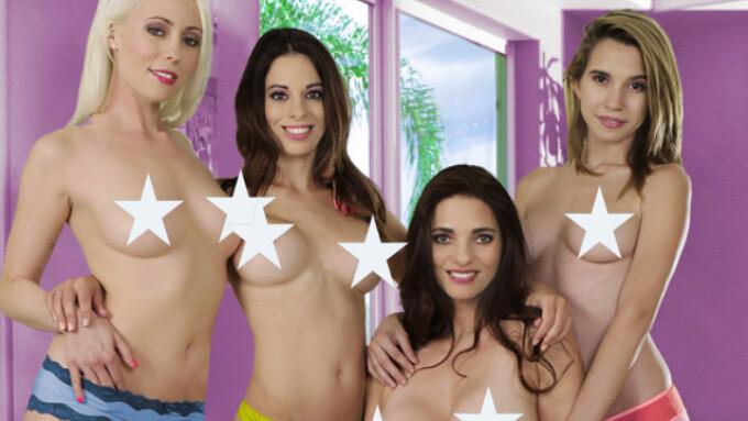Girlfriends Films Releases 'Wet for Women 4'