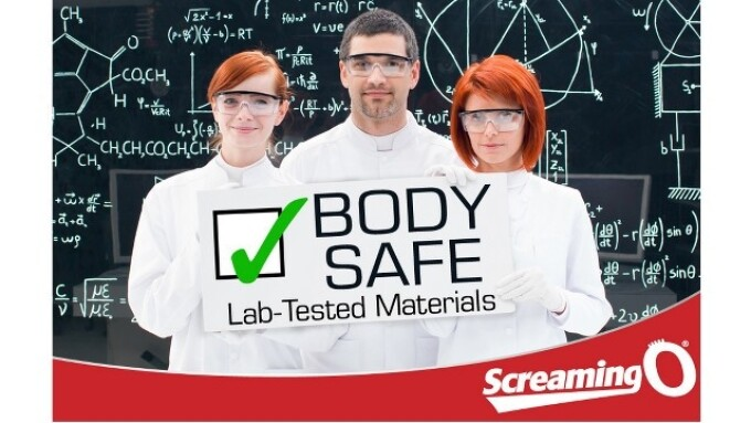 Screaming O's ABS Plastic, True Silicone Pass Latest Testing