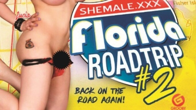 Grooby's 'Shemale.xxx Florida Roadtrip 2' Releases Monday