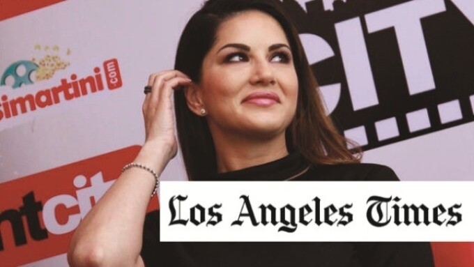 L.A. Times: Sunny Leone Becomes 'Girl-Power Icon' in India