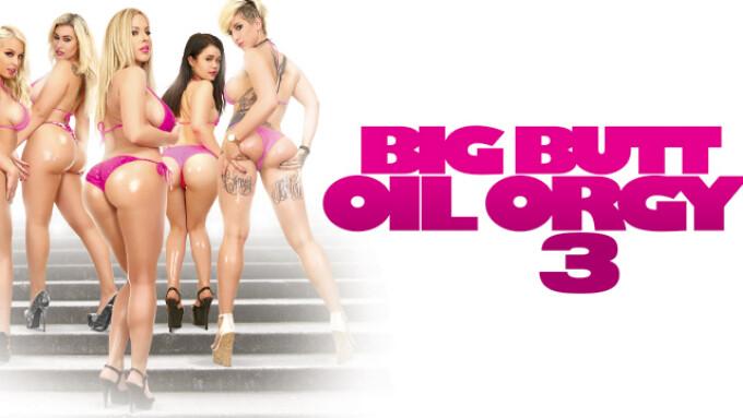 big butt oil orgy 3