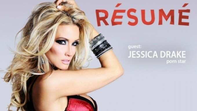 jessica drake Interviewed on 'Résumé' Podcast