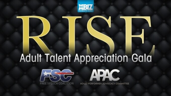 XBIZ Announces 2nd Annual RISE Adult Talent Appreciation Gala