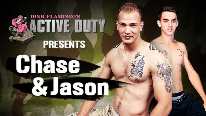 ActiveDuty.com: Fan Fave Chase in 1st Bottoming Scene