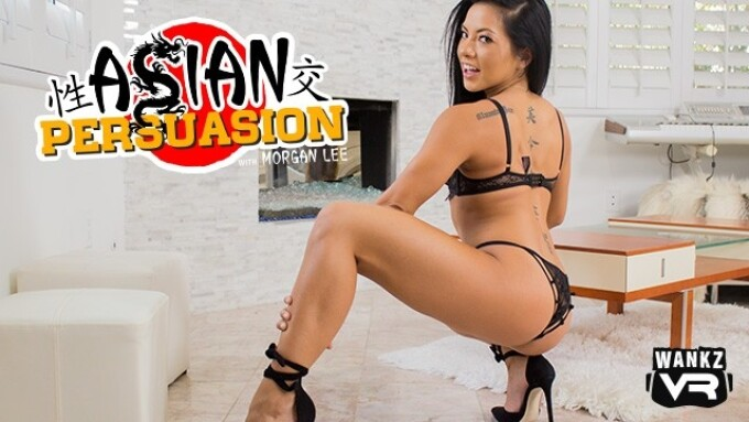 Morgan Lee Featured in WankzVR's 'Asian Persuasion'