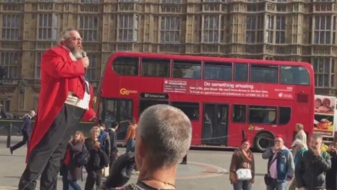U.K. Porn Stakeholders Protest in Front of Parliament