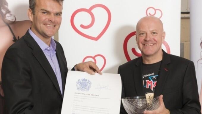 Lovehoney Presented With Queen's Award for Enterprise