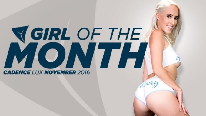 Girlsway Names Cadence Lux November Girl of the Month