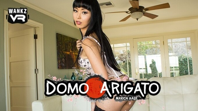 WankzVR Releases 'Domo Arigato' With Marica Hase