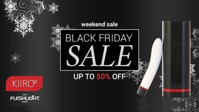 Kiiroo Announces Black Friday, Cyber Monday Sale