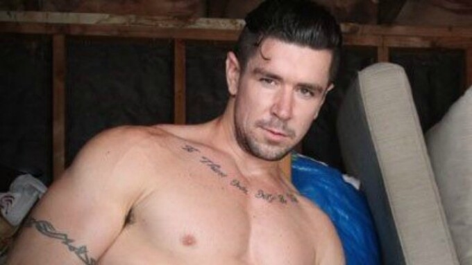 Trenton Ducati Bareback Scene Streams on AEBN