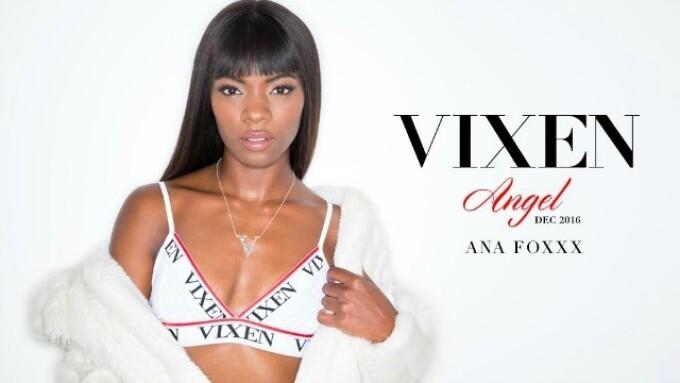 Ana Foxxx Named December's Vixen Angel