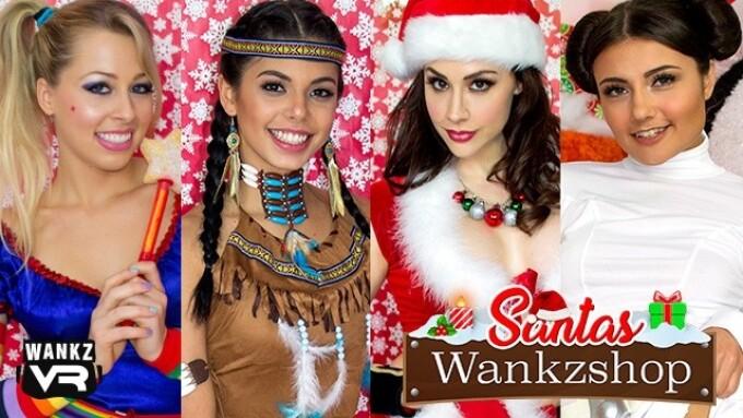 WankzVR Offers Christmas Special, 'Santa's Wankzshop'