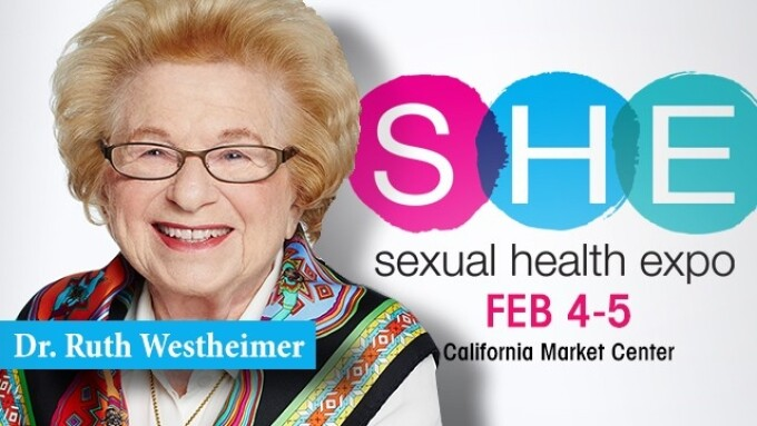 Dr. Ruth to Keynote SHE L.A.