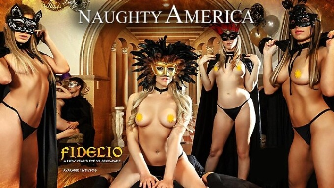 Naughty America Plans New Year's Eve Release of VR Title, 'Fidelio'