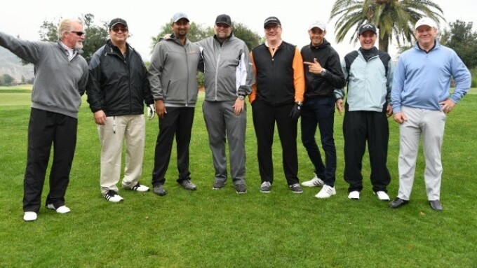 XBIZ 2017 Conferees Tee Up for Golf Tourney