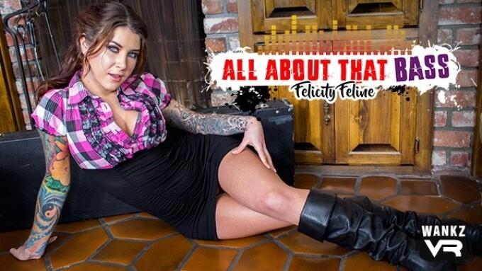 Alt Star Felicity Feline in WankzVR's 'All About That Bass'