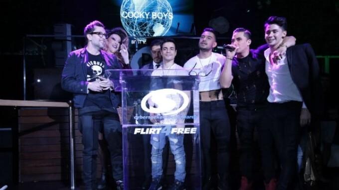 NakedSword, CockyBoys, Helix Snag Top Cybersocket Honors