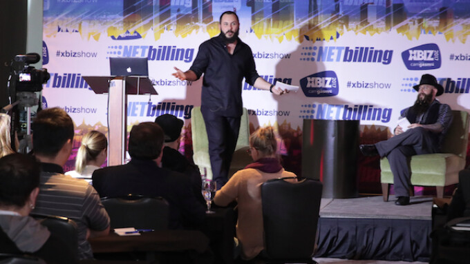 XBIZ 2017: Greg Lansky Delivers Rousing Digital Media Keynote