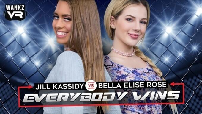 WankzVR's 'Everybody Wins' Stars Bella Elise Rose, Jill Kassidy