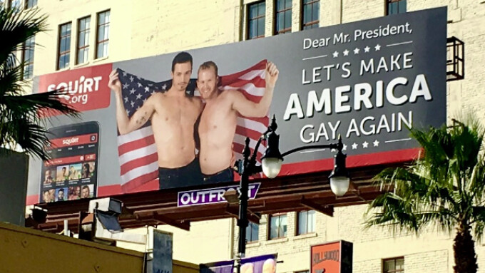 Squirt.org Rolls Out 'Let's Make America Gay Again' Campaign