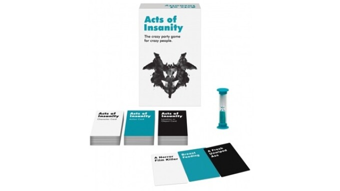 Kheper Games Offers 'Acts of Insanity' Party Game
