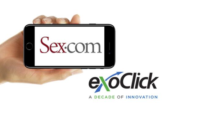 Sex.com Returns to ExoClick