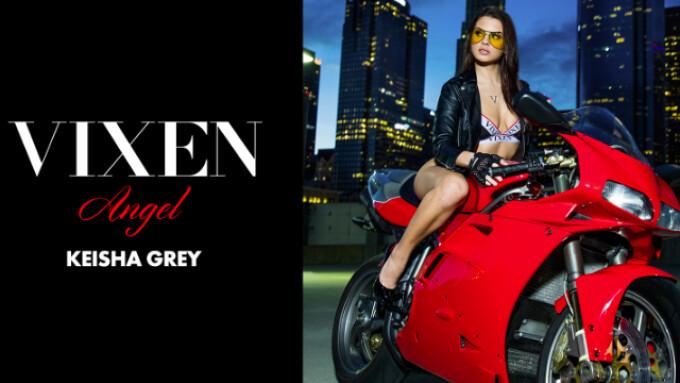 Keisha Grey Named Vixen Angel for February 2017