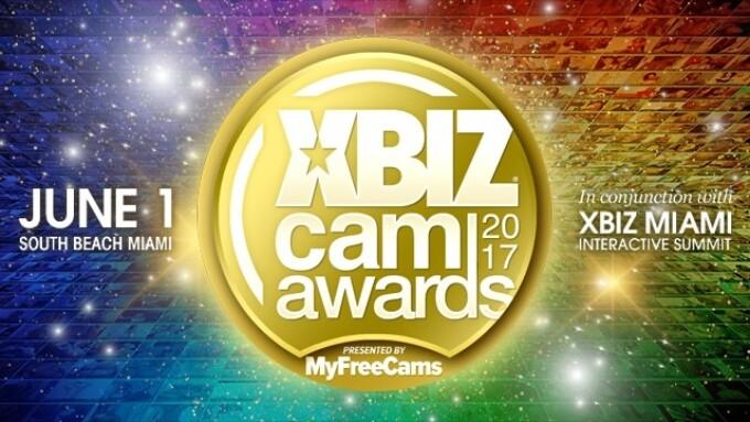 XBIZ Cam Awards Pre-Nom Period Ends Friday