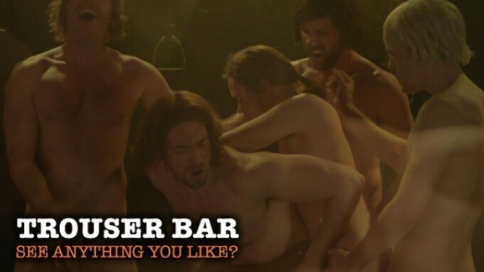 NakedSword Film Works Adds 'Trouser Bar' to Library