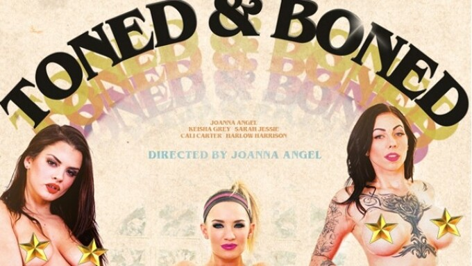 Burning Angel Releases Joanna Angel's 'Toned and Boned'