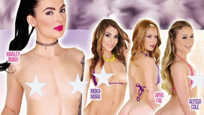 Evil Angel, BAM Visions Release 'Mick's Anal Teens 5'